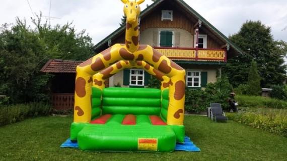 Hüpfen und Rutschen - Giraffe