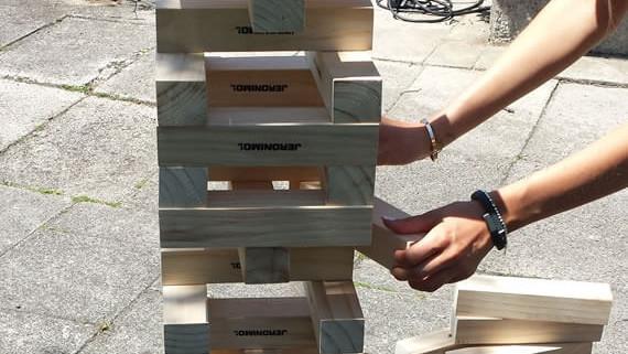 PARTY4YOU - Spiel und Spass - XXL Wackelturm